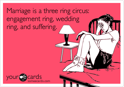 Three Rings of Marriage