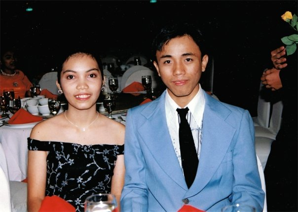 And this was 2005, when I was 16. Our Senior's Ball. I looked more manly than my date. Crooked teeth and unkempt eyebrows.