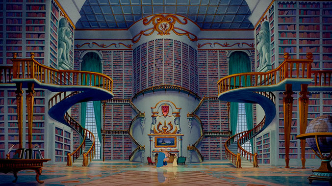 we-want-to-live-in-the-beasts-castle-because-library-beast-and-belle-7
